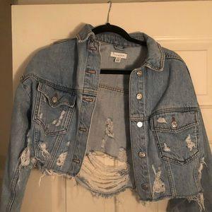 Jean jacket (cropped)